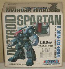 "Macross Destroid Spartan Real Dicast Model 3"" 7.5cm 1/144 Figures Dolls Takatoku"
