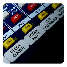 Orchestra Magnetic Labels for Mackie ProFX mixers