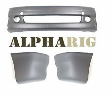 Complete Front bumper Kit 2002 - 2012 Columbia Center 3 pcs Freightliner TRUCKS