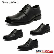 Bruno Marc Mens Genuine Leather Dress Casual Comfort Lace-up Oxford Modern Shoe