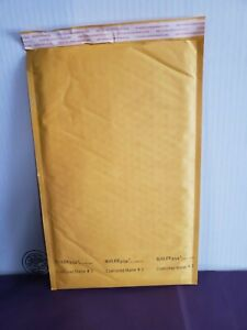 """50 #3 8.5x14.5"""" Kraft Bubble Mailers Shipping Padded Envelopes Self-Seal"""