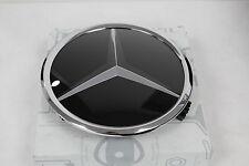 Genuine Mercedes-Benz Black Radiator Grille Star Badge Emblem A1648880411 NEW