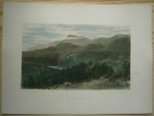 1872 Bryant print GREAT SMOKY MOUNTAINS, NORTH CAROLINA (#8)