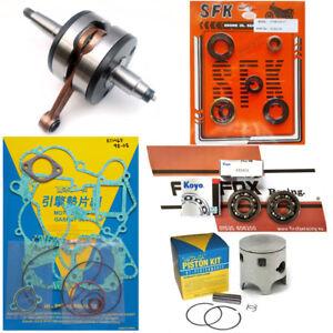 KTM65 SX 2003-2008 44.96mm Mitaka Engine Rebuild Kit Inc Crank Piston Gaskets