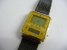RARE digital wrist watch Dual digital & digital analogue LCD screen; Digi-Analog