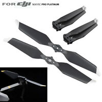 2 Pairs Genuine For DJI Mavic Pro Platinum Low-Noise Quick-Release Propeller US