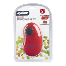 Zyliss EasiCan Electric Battery Operated Can Opener, Red New in Package