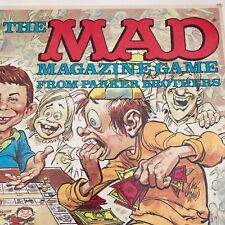 1979 Vintage The Mad Magazine Board Game Original USA Made Parker Brothers