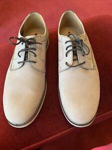 Clarks Collection Cushion Soft  9 (eu43) Beige Lace Up Shoes