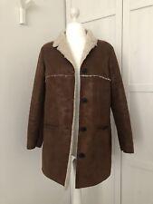 Mango Faux Sheepskin Jacket, Size XL