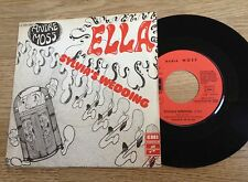SP 45 tours Andre Moss Ella / Sylvia's wedding 1974 EXC+