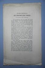 Discorso pronunciato dal Senatore Luigi Torelli il 24/6/1870 a Solferino