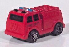 "Soma Micro Power Mini Machines Fire Engine Truck 1.25"" Diecast Scale Model"