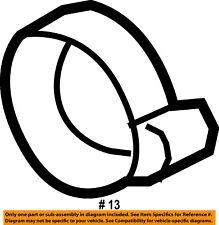 Jeep CHRYSLER OEM 15-16 Renegade Air Cleaner Intake-Air Tube Clamp 6106368AA