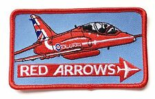 Raf Flèches Rouges Royal Air Force Militaire Patch Brodé