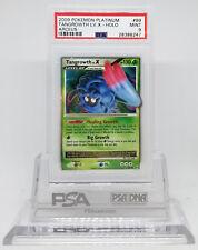 Pokemon ARCEUS TANGROWTH LV X #99 ULTRA RARE HOLO FOIL CARD PSA 9 MINT #*