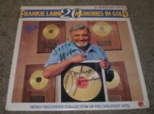 20 Memories In Gold Frankie Laine~AUTOGRAPHED~2 LP Best Of~FAST SHIPPING!!!