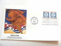 """December 13th, 1994 """"Eagle"""" Official Mail First Day Issue**"""