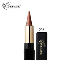 AU Waterproof Glitter Eyeshadow Pen Metallic Eye Brighten Contour Shadow Stick 4#