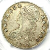 1808 Capped Bust Half Dollar 50C O-105 - Certified PCGS VF30 - Rare Coin