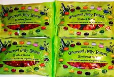 4 x Trader Joes Gourmet Jelly Beans 18 Natural Flavors Easter Candy 15 oz each