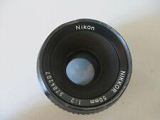 OBJECTIF LENS NIKON  NIKKOR   50mm 1:2