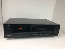 Denon Drm-400 Single Cassette Tape Deck Made in Japan. Serviced!