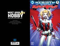 DC Rebirth Harley Quinn #1 MGH Exclusive EBAS Color Variant NM
