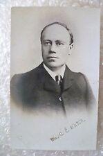 Postcard- Mr A E Lunn