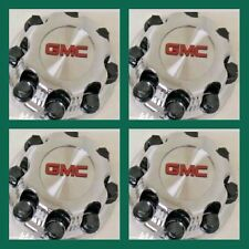 "4pc New kind GMC Sierra Yukon VAN 1500 2500 3500 16"" Wheel Center Caps Hub 8Lug8"