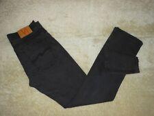 Mens Nudie Low Slim Jim NJ1448 Dry Black Coated Jeans Made in Italy - Size 31x34