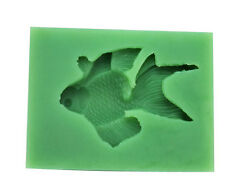 Goldfish Chocolate Mould Flexible Silicone Soap Mold Candle Mold Polymer Q0001