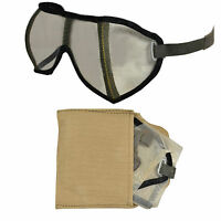German Army Dust Protection Glasses - Original WW2 DAK Desert Military Goggles