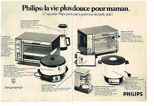 Publicité Advertising 1970 (2 pages) Les appareils ménager Philips