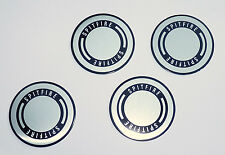 TRIUMPH Spitfire Argento & Nero Centro Della Ruota Distintivi, Triumph Parte 633590