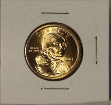 Sacagawea 2001 D Dollar Coin Uncirculated BU Denver