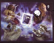 La Grande-Bretagne 2013 médecin qui miniature sheet fine utilisé
