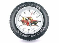 Landrover Discovery Tyre Clock the best 4 x 4 by far Landrover Spare Wheel Clock