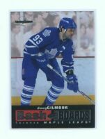 1996-97 Leaf Limited Bash the Boards #4 Doug Gilmour Maple Leafs /2500 Card