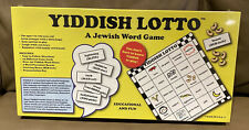 Yiddish Lotto A Jewish Word Game RARE Board Game NEW SEALED