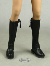 1/6 Phicen, TB League, Hot Toys, NT - Female Sexy Black Equestrian Zipper Boots