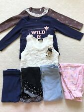 Girls Size 2, Incl,. Fluffy Vest, Tops , Legging & Pants , Excellent Used