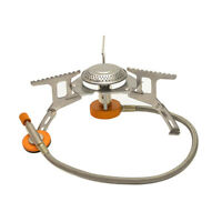Picnic Camping stove Gas Burner Stainless Steel Hiking Cookware 3500W Portable