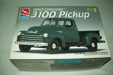 AMT  1950  CHEVROLET 3100  PICKUP    1:24 scale   kit