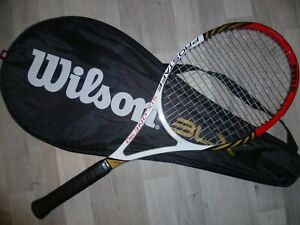 RAQUETTE TENNIS WILSON PRO STAFF SIX ONE 90 SIGNATURE FEDERER MANCHE 3  4 3/8