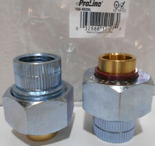 "Lot of 2  Proline Dielectric Unions 1/2"" Fpt X 1/2"" Sweat Copper"