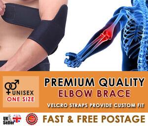 Adjustable Neoprene Spring Elbow Support Strap Brace Tennis Arthritis Gym Sport