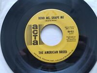 """THE AMERICAN BREED - Bend Me Shape Me / Mindrocker 1967 PSYCH ROCK Acta 7"""""""
