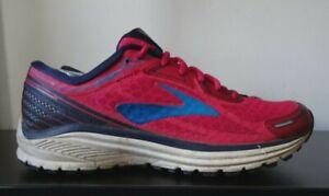 Womens Brooks Aduro Pink Gym Fitness Running Trainers - UK 6