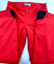 New listing Nice! Powderhorn Mountaineering (36) Bright Red Insulated Ski Snow Pants
